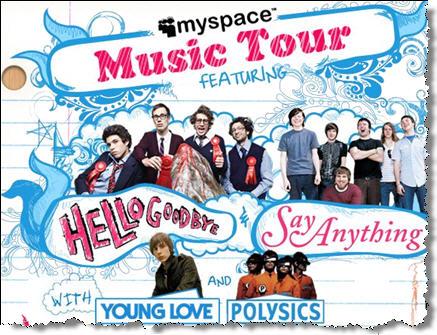 Myspacemusictour
