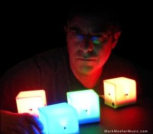 Mark Mosher Percussa Audio Cubes