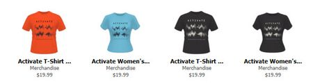 Activate t-shirt2