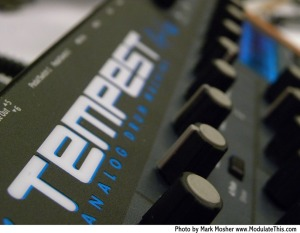 Tembest Logo and Knobs