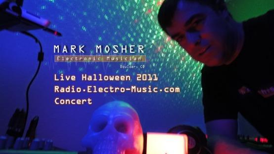 markmosher-live-radio-electro-music-halloween-2011-concert