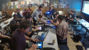 Ableton Link Jam at the Rocky Mountain Synthesizer Meetup