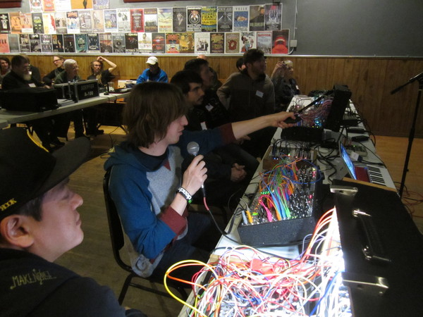 Photos from Modular Synth Lightning Patch Walkthroughs  at the Rocky Mountain Synthesizer Meetup