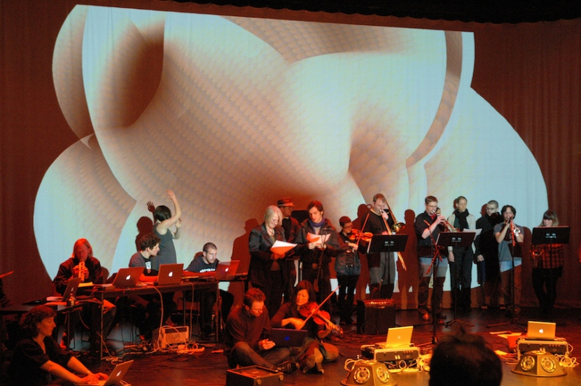 Tonight at 7:30pm – Boulder Laptop Orchestra BLOrK performs with Guest Mark Mosher