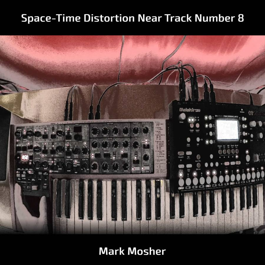 Space-Time Distortion Near Track Number 8 - cover2