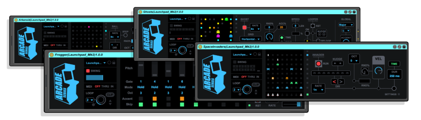 Isotonik Studios Max for Live Generative Sequencers Arcade Series Returns