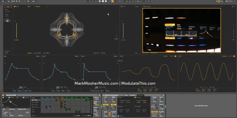 """Dark Star 01 MM"" Original Preset for Ableton Live 10 Wavetable Synth(beta)"