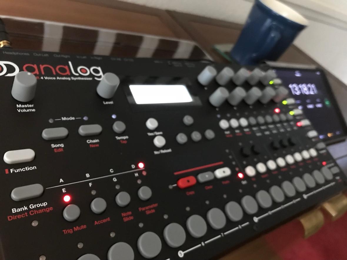 Studio Improv Session on Analog Four