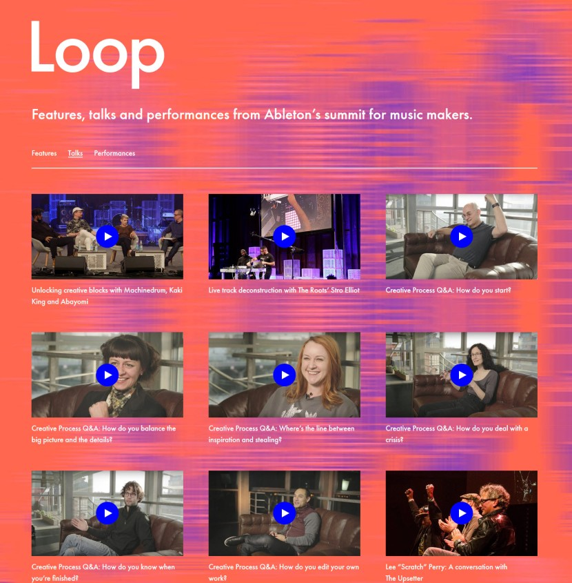 Watch Videos from 2017 Ableton Loop Festival at Funkhaus in Berlin