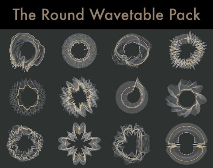 Sound Design Project: Honored to be a Contributor to The Round Wavetable Pack