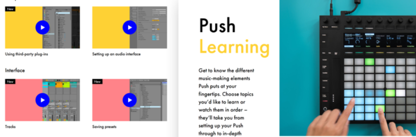 New Videos from Ableton to Help You Learn Live 10 and Push2